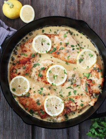 Creamy-Chicken-Piccata