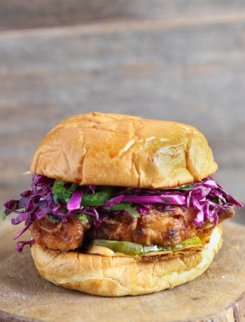 Fried-Chicken-Burger