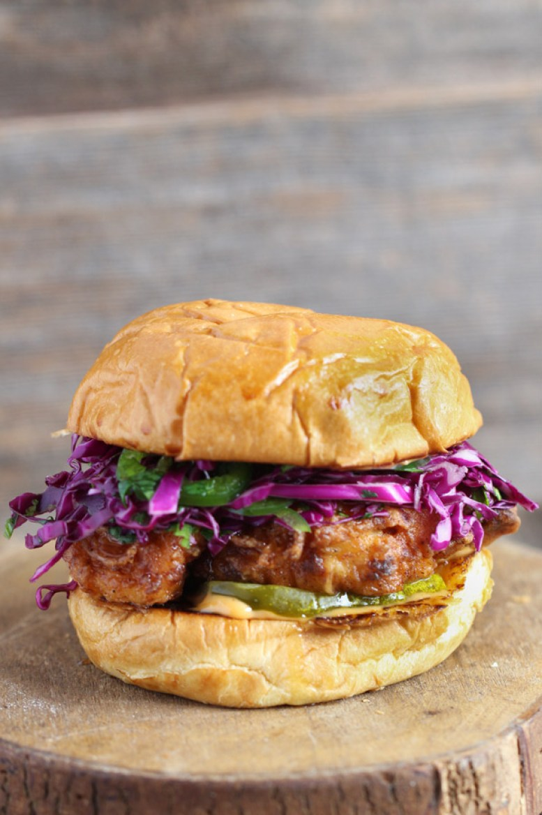 Fried-Chicken-Burger