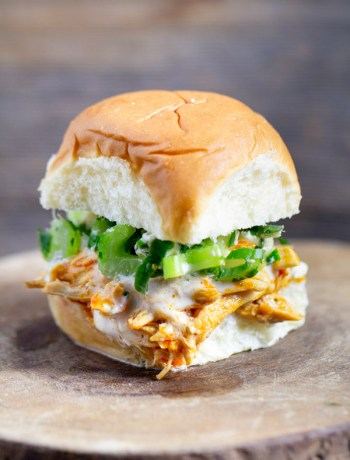 Buffalo-Chicken-Sliders