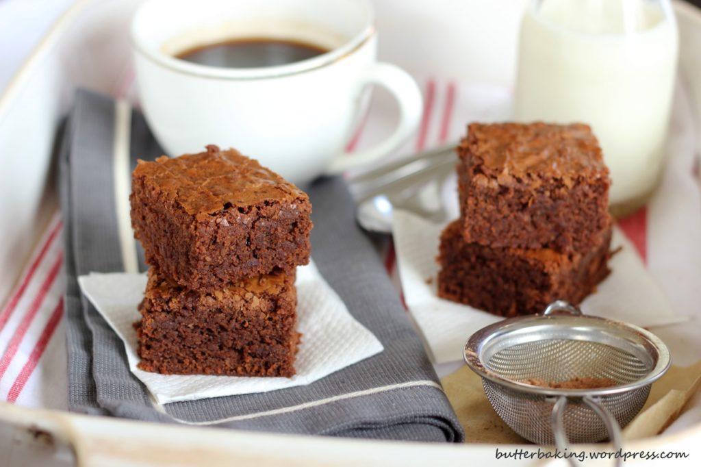 Brownies Butter Baking