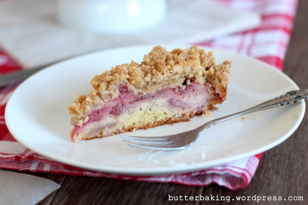 Strawberry Crumb Cake | Butter Baking