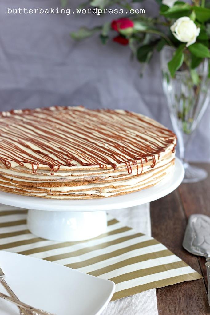 Polish Icebox Cake (Miodowiec) | Butter Baking