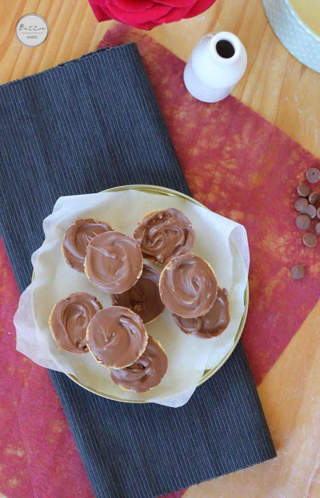 Chocolate Peanut Butter Bites | Butter Baking