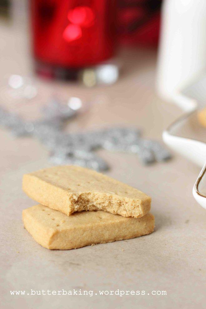 Christmas Spiced Shortbread | Butter Baking