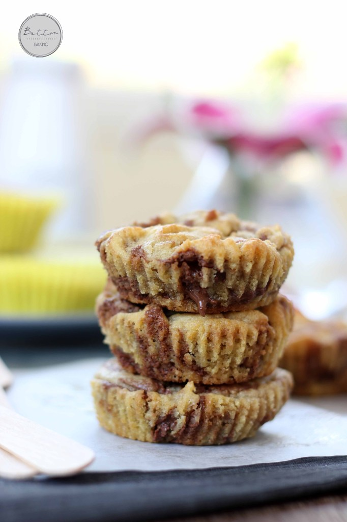 Peanut butter chocolate truffle cookie cups | Butter Baking