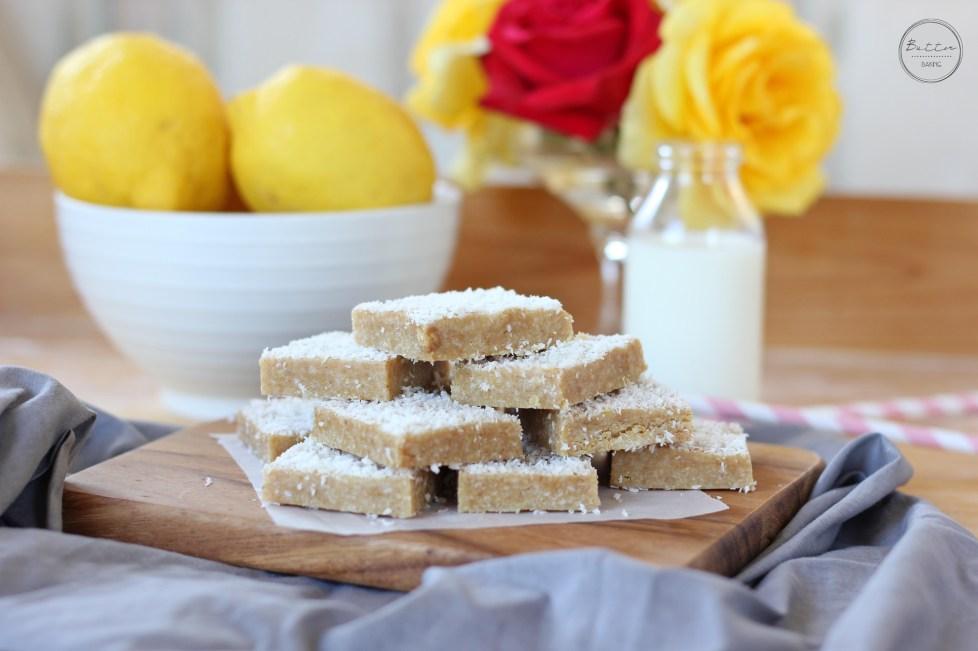 Lemon coconut bars | Butter Baking