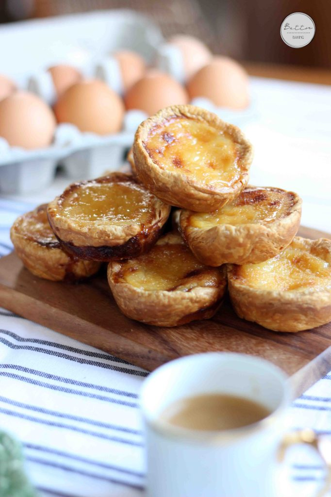 Portugese Tarts | Butter Baking