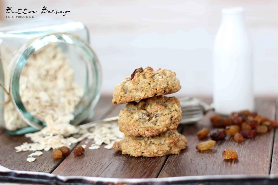 Oatmeal Raisin Cookies | Butter Baking
