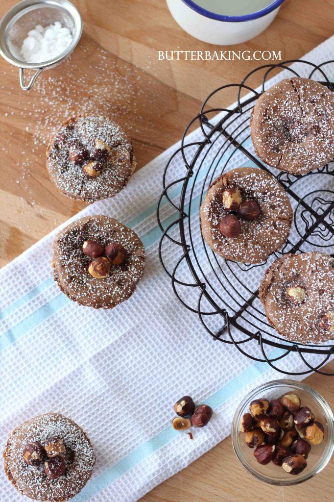 Chocolate Hazelnut Tarts   Butter Baking