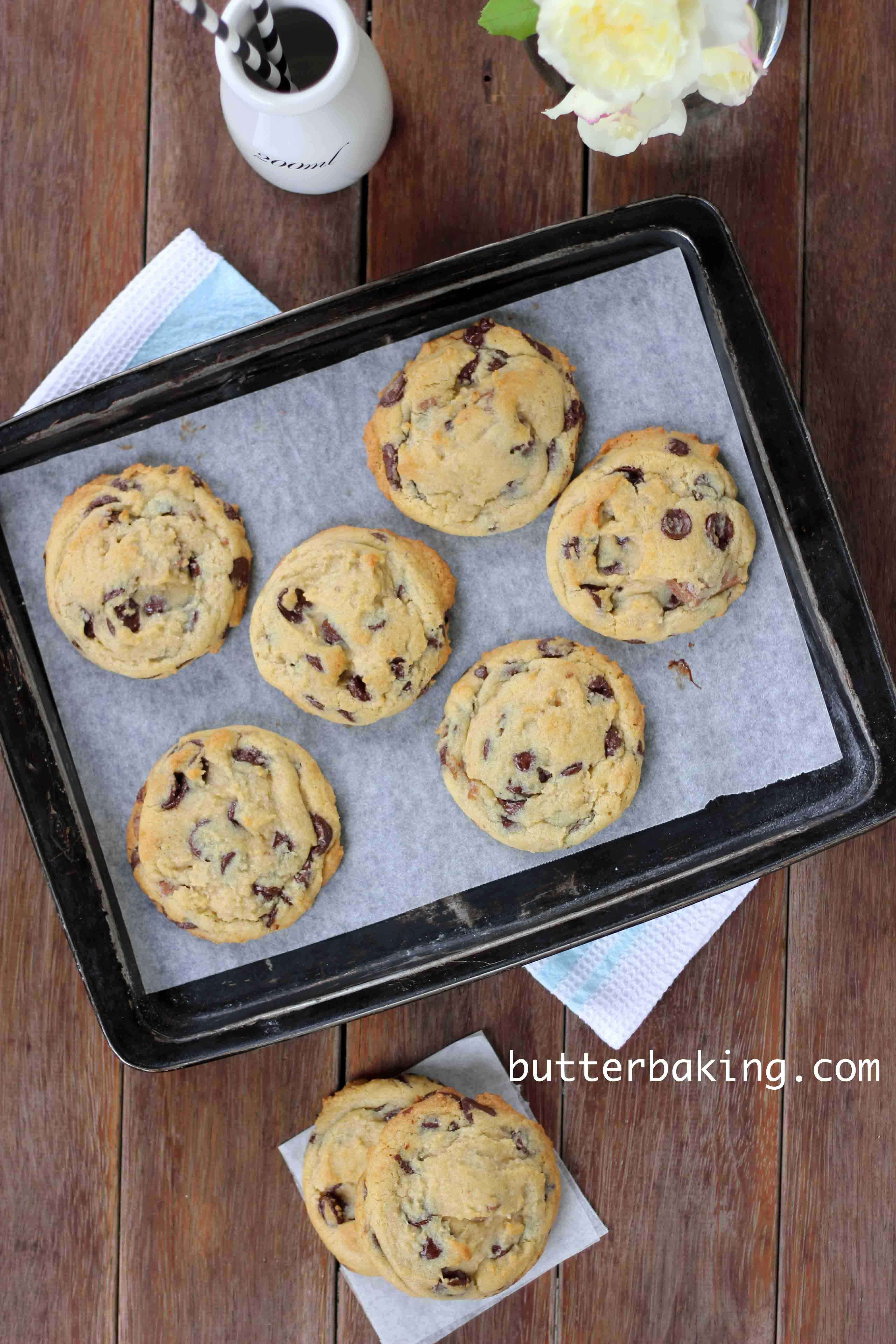 Soft Batch Chocolate Chip Cookies – Butter Baking