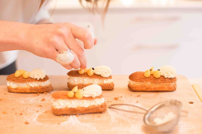 Passionfruit Eclairs   Butter Baking