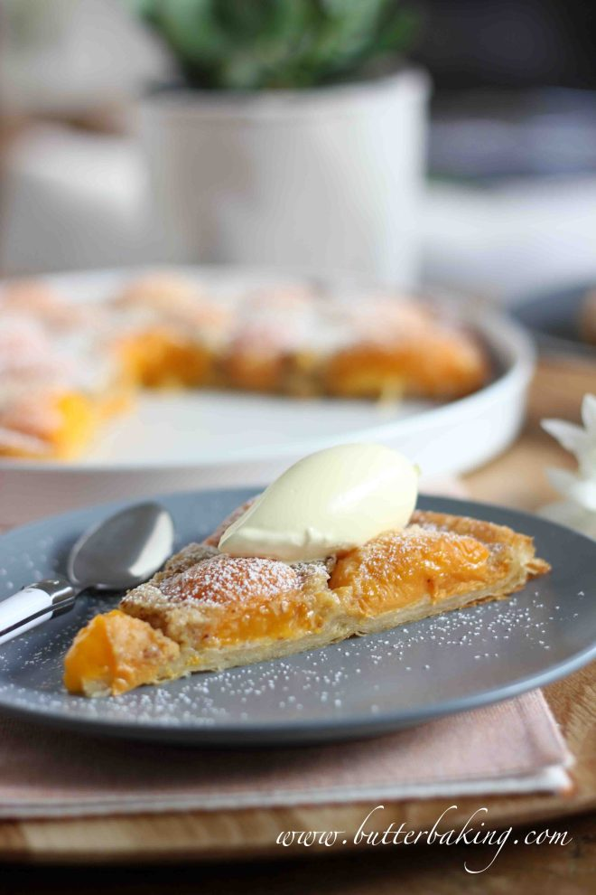 Apricot and Almond Tart | Butter Baking