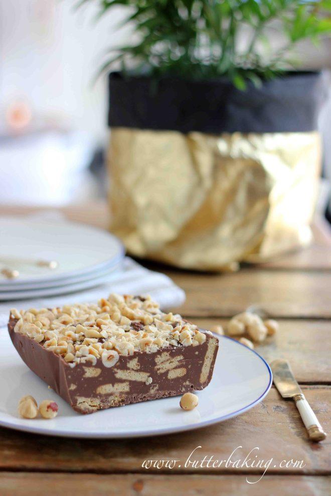Chocolate Hazelnut Biscuit Cake | Butter Baking