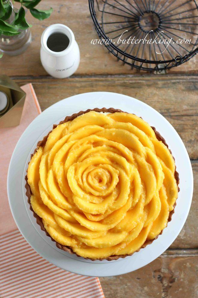 Mango Cheesecake Tart | Butter Baking