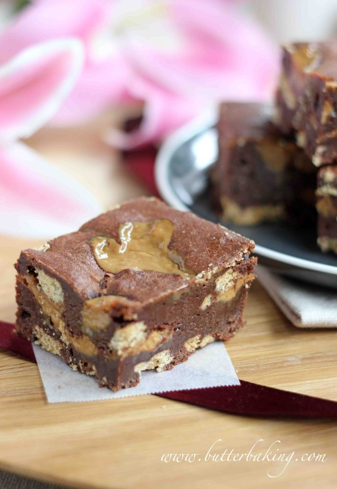 Dulce de Leche Brownies | Butter Baking