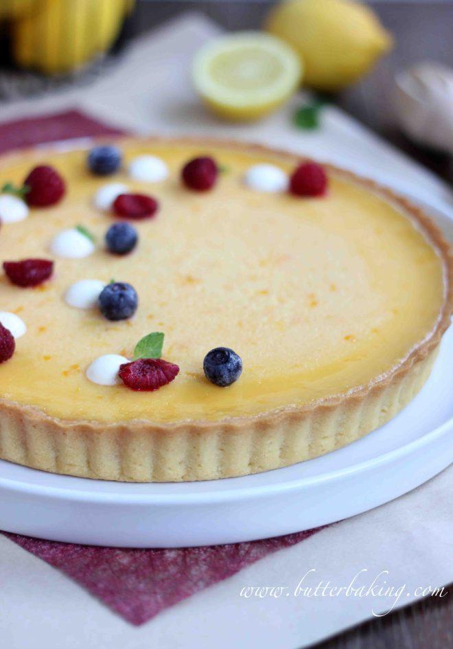 Lemon Tart | Butter Baking
