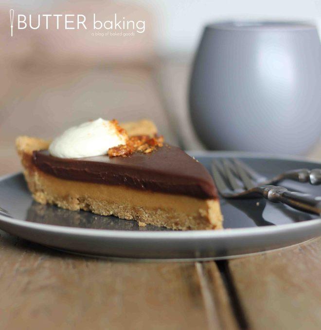 Peanut Butter Cup Tart | Butter Baking