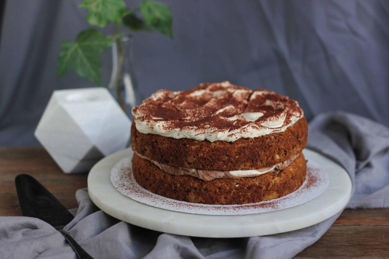Banana, Nutella & Cream Layer Cake | Butter Baking