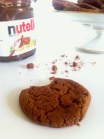 Nutella Cookies or How to deal with a sudden Craving ?