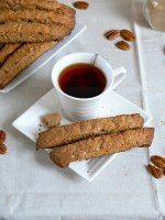 Brown Butter Maple Pecan Biscotti