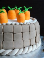 White Chocolate Chai Tea Carrot Triple Layer Cake