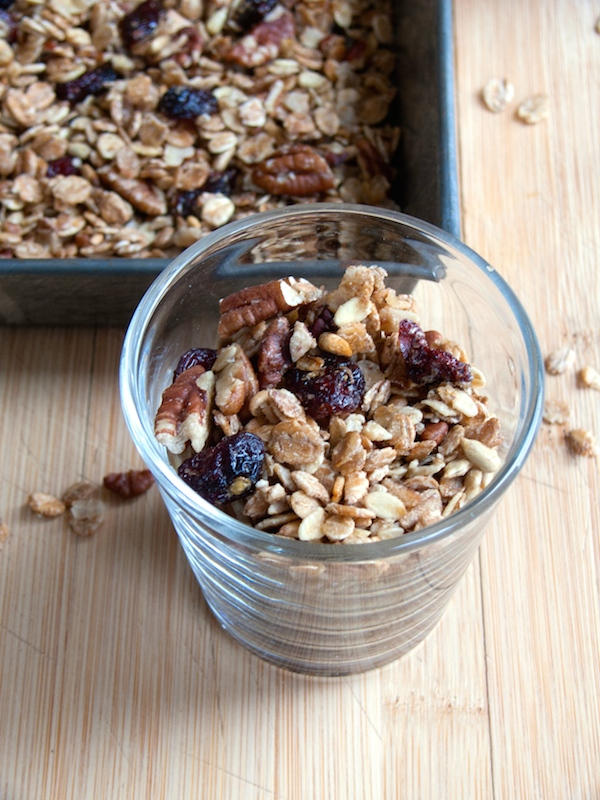 Maple Pecan Cranberry Granola 10