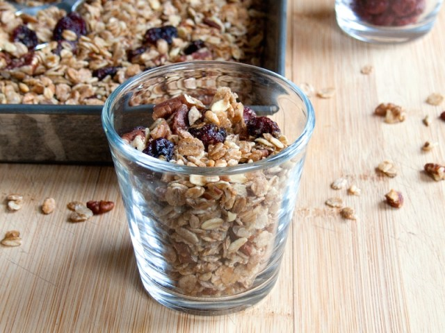 Maple Pecan Cranberry Granola 3