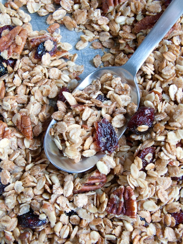 Maple Pecan Cranberry Granola