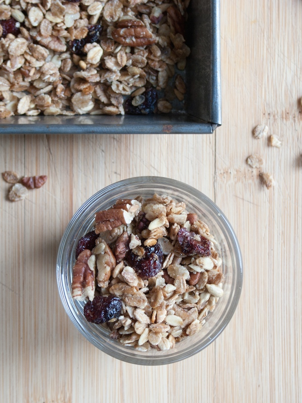 Maple Pecan Cranberry Granola 7