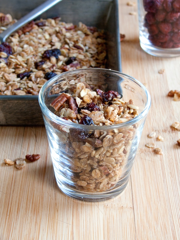 Maple Pecan Cranberry Granola 9