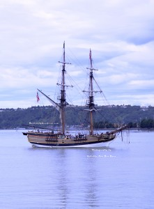 Grays Harbor Historical Seaport's Lady Washington at Maritime Fest 2013 in Tacoma, Washington