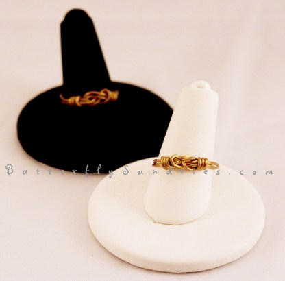 Two Rings on Stands- White Background2