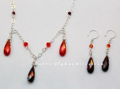 FSandSSN and Earrings on White