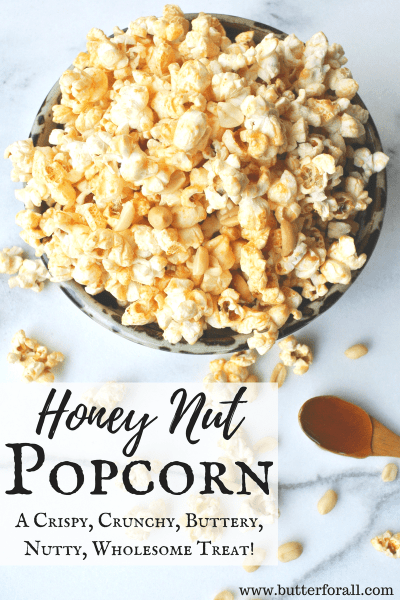 This is a perfect sweet and salty popcorn snack for around the campfire, watching movies or just chilling with friends and family.