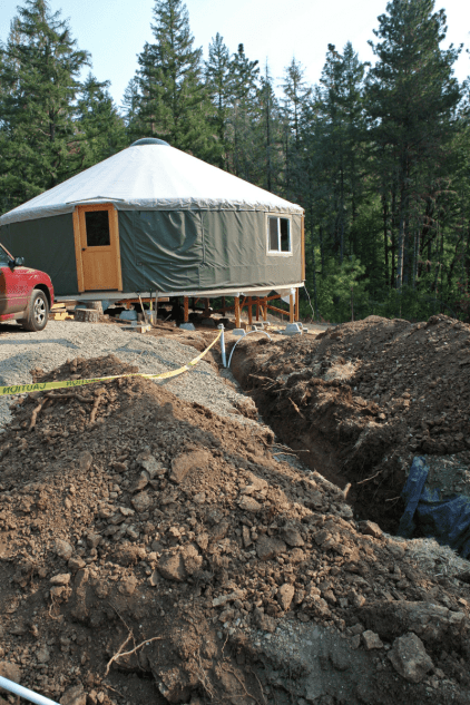 Building A Modern Underground Dwelling To Use As A Family Home