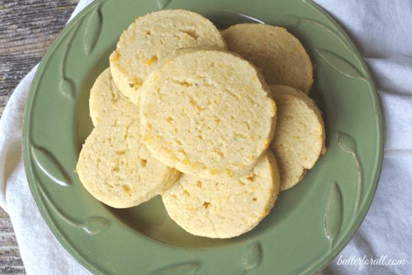 Grain-Free Orange Cream And Cardamom Cookies