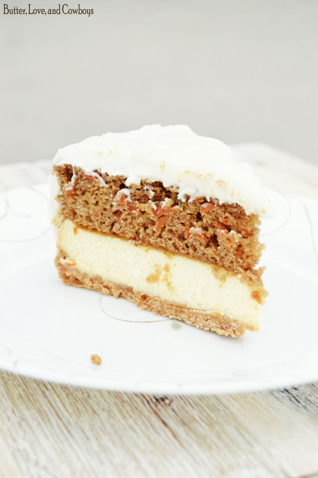 Carrot Cake Cheesecake Butter Love And Cowboys