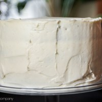 go-to carrot cake with cream cheese frosting