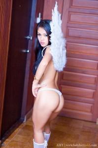 Ladyboy Amy Sexy Star du X Bangkok