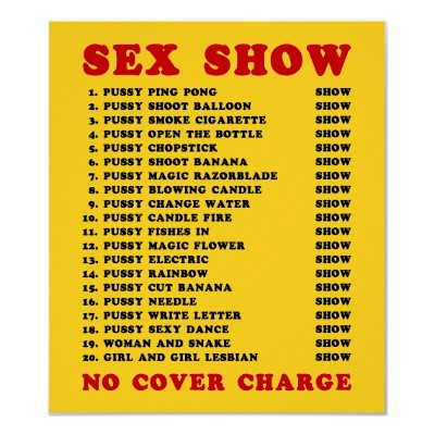 thailande sex shows