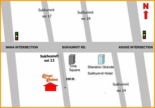 adresse restaurant cabbages and condoms bangkok