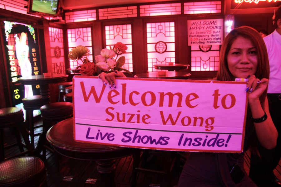 Sex Shows Suzie Wong Gogo Bar
