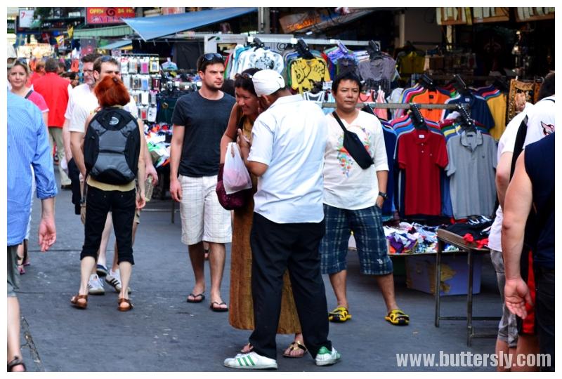 bangkok arnaque khao san road