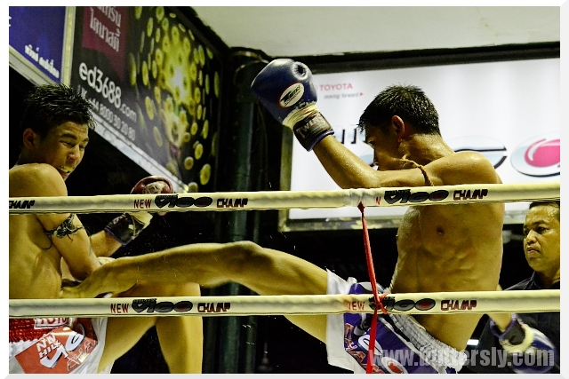 middle kick muay thai