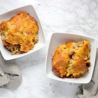 Easy Low Carb Bacon Cheeseburger Casserole