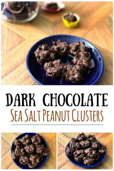 chocolate peanut clusters long pin