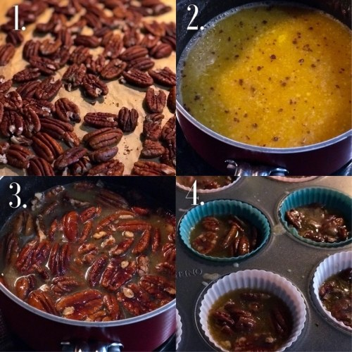 step by step how to make keto pecan pralines