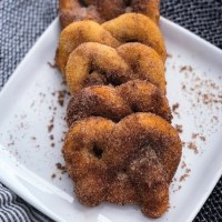 Keto Cinnamon Pretzels - Fat Head Dough
