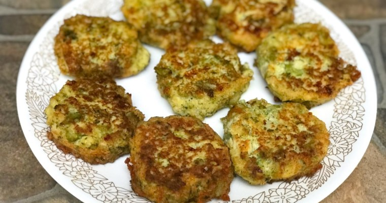 Easy Cauliflower & Broccoli Fritters